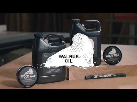 Walrus Oil - Cutting Board Oil, Pure Mineral Oil, and Wood Wax