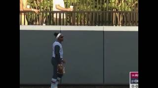 ALABAMA SOFTBALL GIRL JUMPS OVER HOME PLATE AND GETS TAGGED OUT AFTER HITTING A HOME RUN
