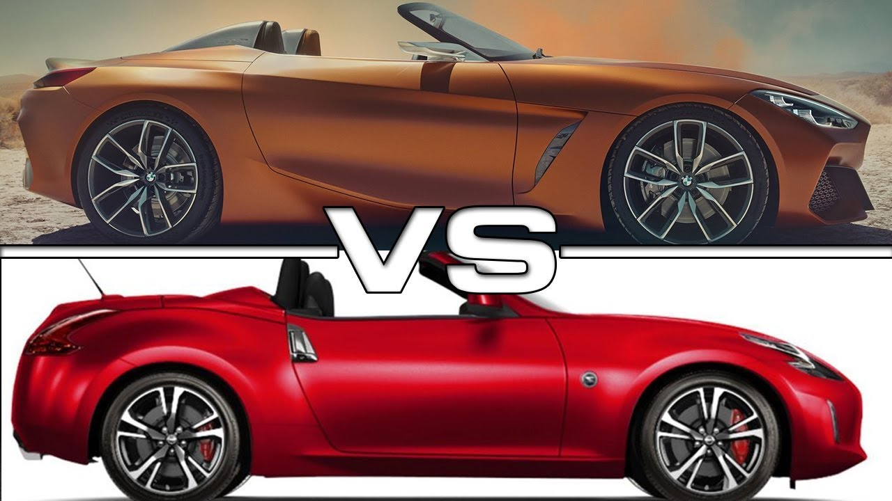 2018 nissan 280z. perfect 2018 2018 bmw z4 concept vs nissan 370z roadster inside nissan 280z