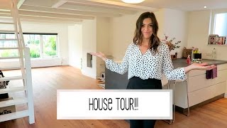 UNFURNISHED HOUSE TOUR! | Laura Ponticorvo | VERHUISVLOG #6