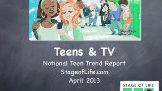 Teen Trend Report:  Teens and TV