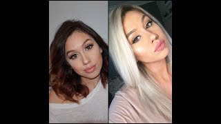 How to: Bleaching, toning your hair + shadow roots at home!
