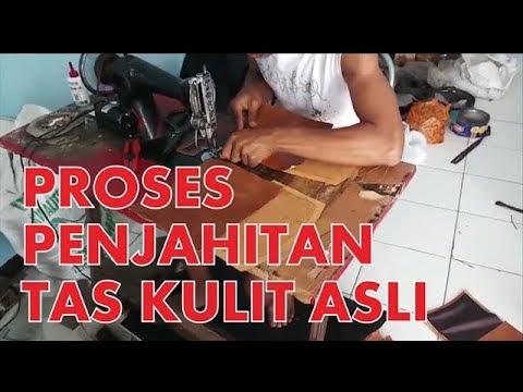 Proses Penjahitan Tas Kulit [Kaobiqa Leather] - 089656586168