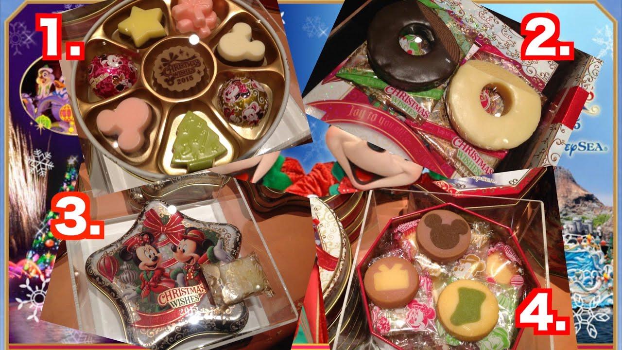 ディズニー・クリスマス第二弾!シーで買える全18種類のお菓子