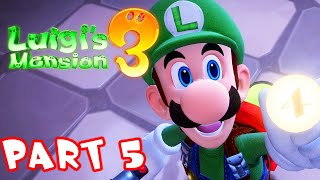 Luigi's Mansion 3 - Part 5 - Chef Soulffle The Cook! Gameplay Walkthrough