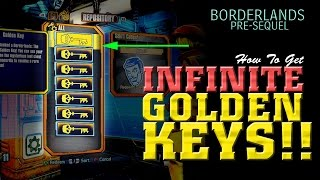 INFINITE Golden Keys Glitch - Borderlands Pre-Sequel