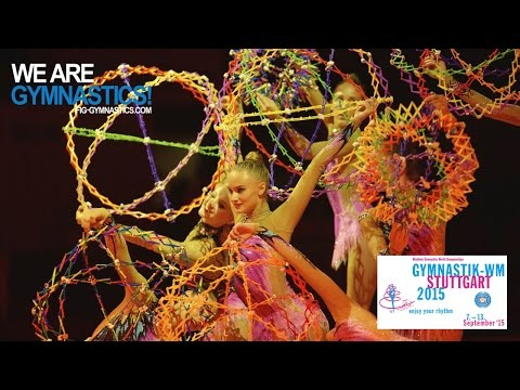 2015 Rhythmic Worlds, Stuttgart (GER) - Highlights 6, Gala - We are Gymnastics !