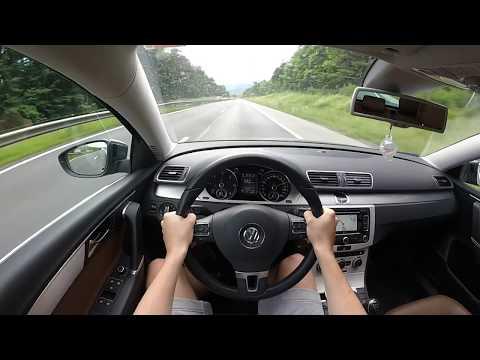 Volkswagen Passat B7 2013 2.0 TDI (177ps) - POV Highway Drive