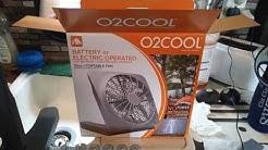 "02COOL 10"" Battery Powered Portable Fan"