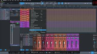 Studio One Minute: How to show and hide Bus Groups