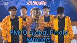 PMCO BERLIN FINALS WINNERS   Pmco Global Finals 2019 Winners   PUBG Mobile
