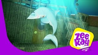 Mr Sharky | Zack and Quack | ZeeKay Junior