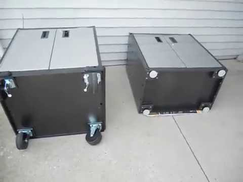 Gladiator GarageWorks: Premier Modular GearBox VS RTA Full Door GearBox  Review PART 3 [Casters]