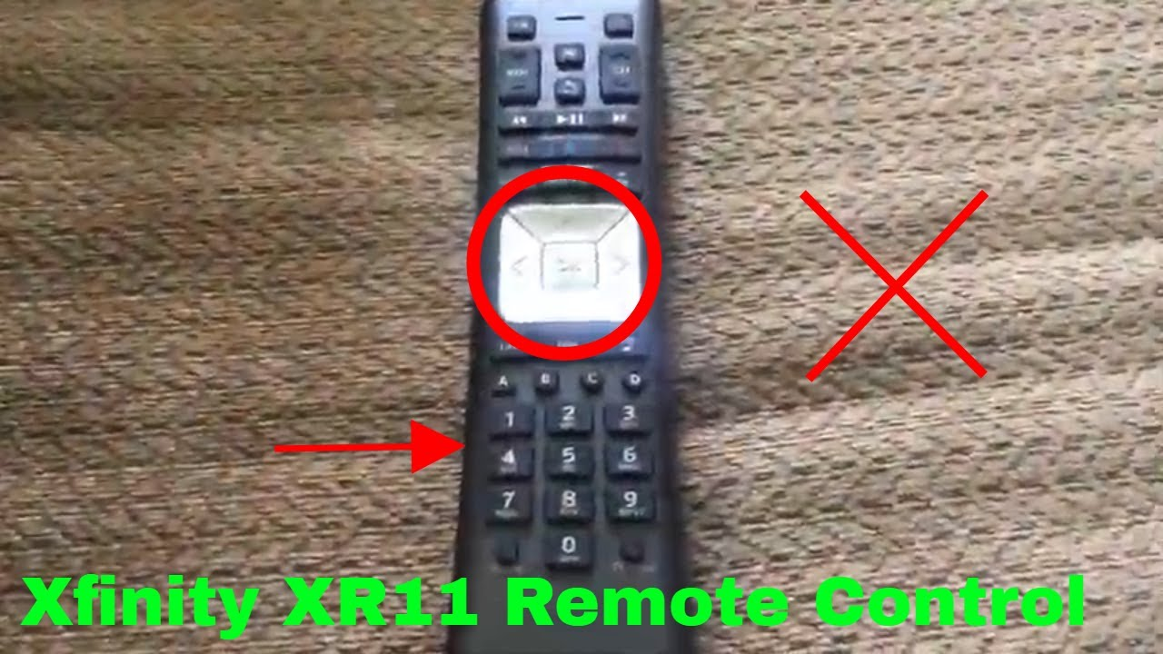✅ How To Use Comcast Xfinity XR11 Remote Control Review