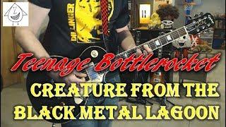 Teenage Bottlerocket - Creature From The Black Metal Lagoon - Guitar Cover (Tab in description!)
