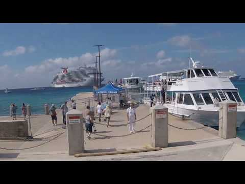 Riding a Tender from Norwegian Breakaway to George Town, Grand Cayman Island
