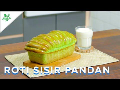 ANTI GAGAL Roti SUPER LEMBUT bentuk SISIR | Roti Sisir Pandan