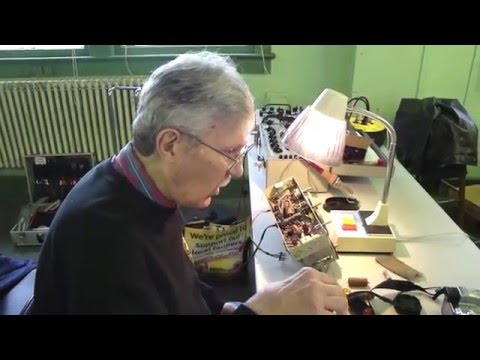 New Jersey Antique Radio Club Repair Clinic 02 20 2016