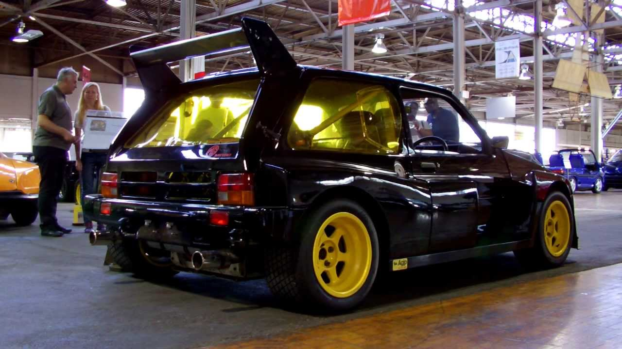 1985 MG Metro 6R4 - YouTube
