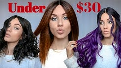 How to rock Super Cheap Wigs | $30 & Under | Hera Remy Wigs