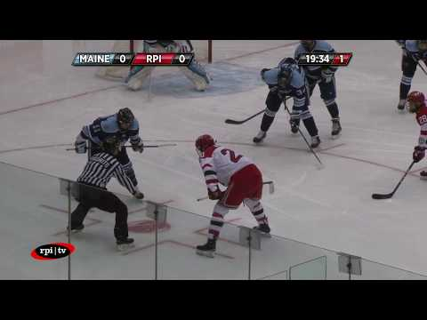 RPI Men's Hockey vs. University of Maine - Game 2