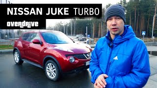 Nissan Juke Turbo (Ниссан Жук Турбо 4WD) - Тест драйв, обзор, разгон