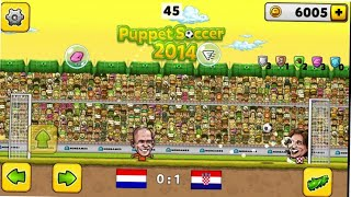 Winning the World Cup with Croatia-puppet soccer 2014 gameplay #02