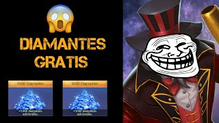 Video 💎Cómo GANAR  DIAMANTES GRATIS 💎 - Mobile Legends - Leo download MP3, 3GP, MP4, WEBM, AVI, FLV November 2018