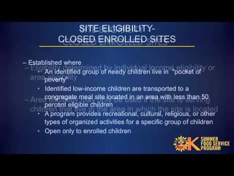 Part 1.1 Program Eligibility