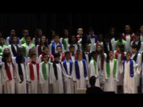 """""A Cappella Mashup"" 5th Grade Graduation 2016"