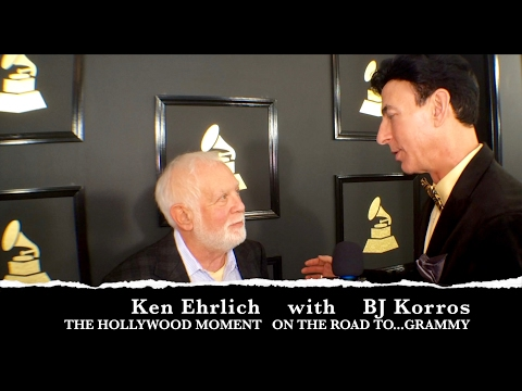 THE 59TH GRAMMY AWARDS KEN ERHLICH INTERVIEW THE HOLLYWOOD MOMENT