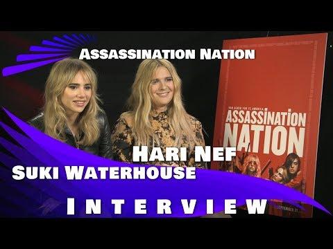 Assassination Nation  Suki Waterhouse and Hari Nef