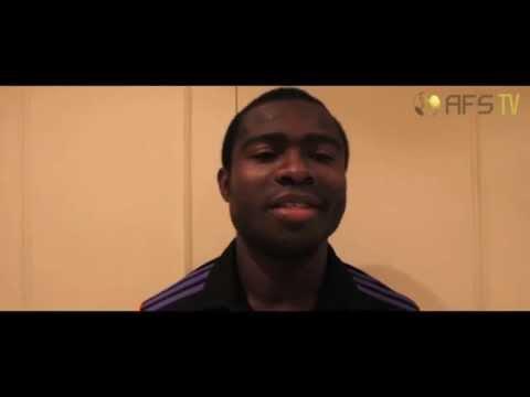 AFS TV meets Frank Acheampong [Ghana & Anderlecht]