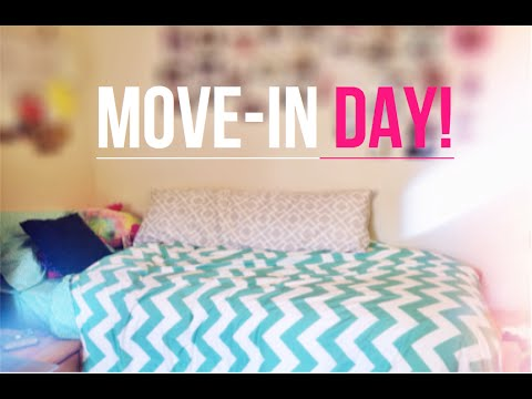COLLEGE MOVE-IN DAY | My USC Dorm Room