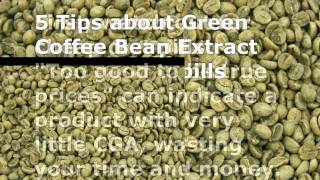 Quick Weight Loss Pills-Green Bean Coffee Extract