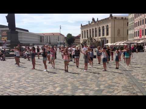 Dance Flashmob in Dresden
