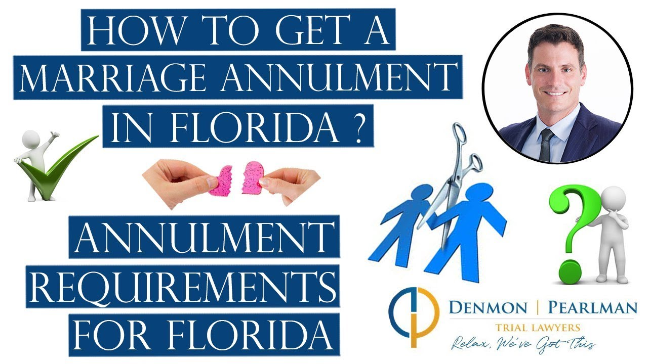 how to annul a marriage in florida