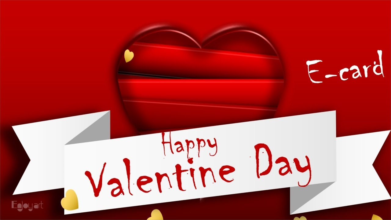 Happy Valentine Day Wishes Greetings E Card Whats App Status By