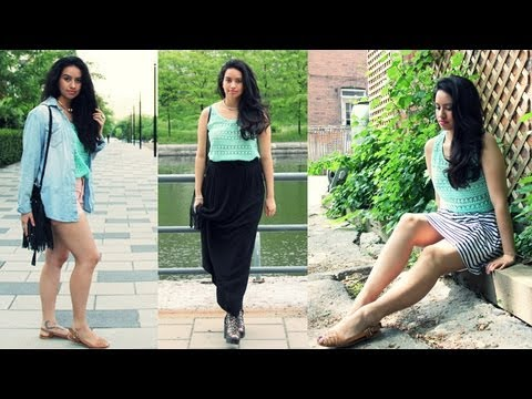 HOW I STYLE MINT LOOKBOOK | Alexa LIKES