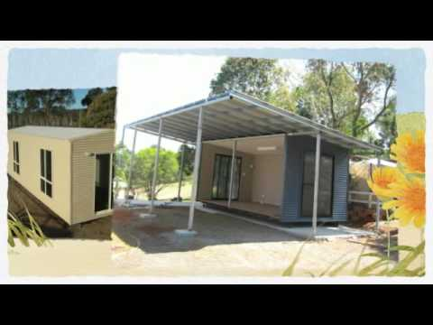 Transportable Cabins QLD  Oz Cabins  YouTube