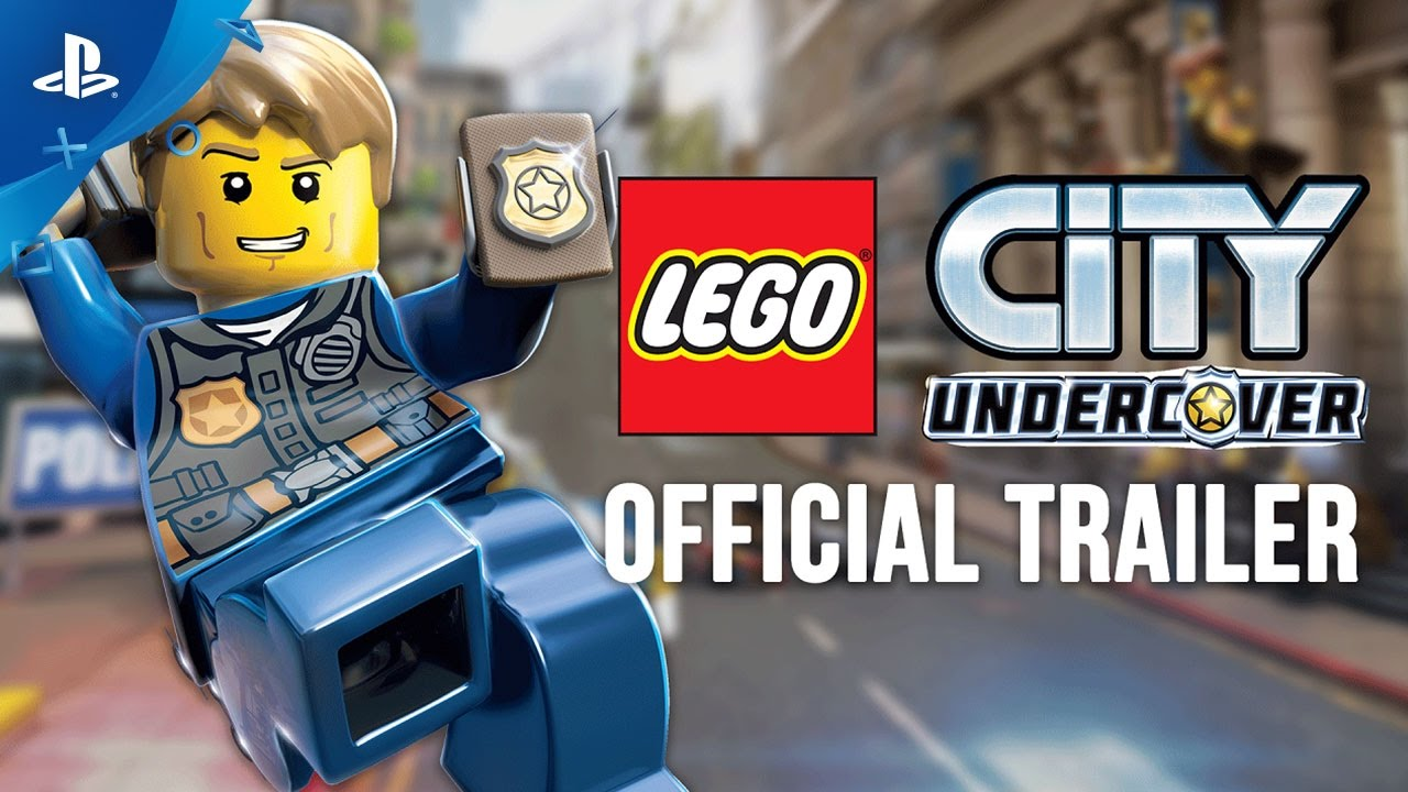 Lego City Undercover Official Trailer Ps4 Youtube
