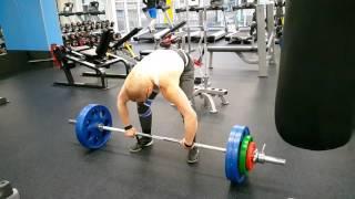 Становая тяга 135 кг на 13 раз 03 05 2016