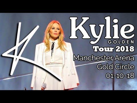 Kylie Golden Tour 2018 Manchester Monday 1st October Highlights