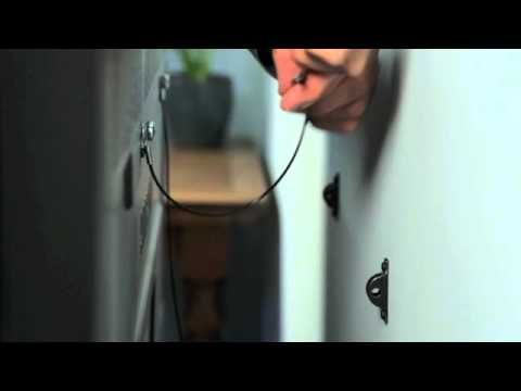 How To Secure Your Tv To The Wall Youtube
