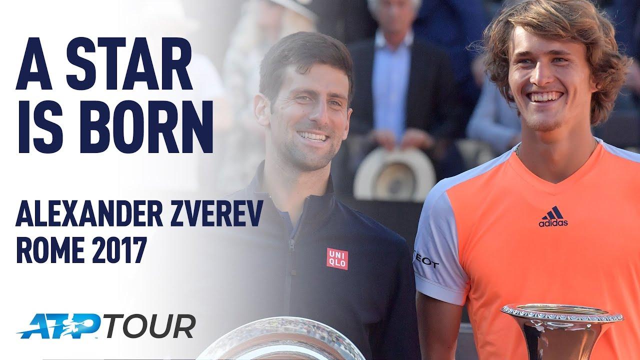 Alexander Zverev Stars In Rome 2017 | A STAR IS BORN | ATP
