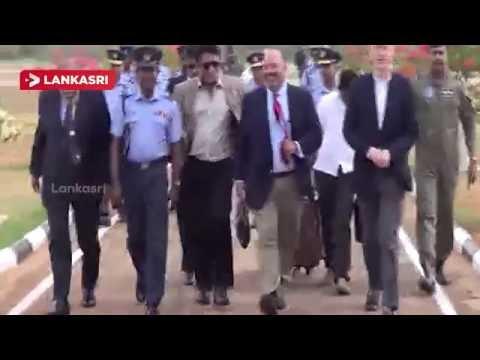 America's 40 member medical team at a special Visit in Jaffna