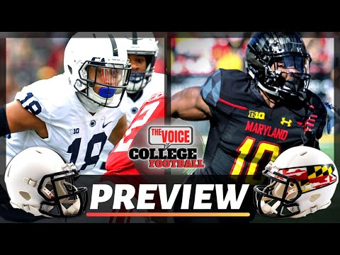 BLACKOUT vs WHITEOUT! / Penn State Nittany Lions - Maryland Terrapins Preview