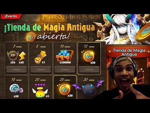 Summoners War - Comienza el primer evento de la Tienda de Magia Antigua en busca del Ifrit de luz