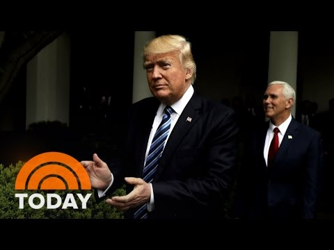 President Trump Under Fire Over 'Tapes' Threat As White House Searches For New FBI Director | TODAY