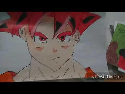Mostrando meus desenhos de Dragon Ball